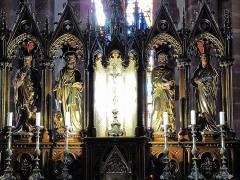 Eglise catholique de l'Assomption de la Bienheureuse Vierge Marie - Alsace, Haut-Rhin, Bergheim, Église Notre-Dame de l'Assomption (XIVe-XVIIIe) (PA00085341, IA68006093: Maître-autel.