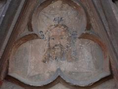 Eglise catholique de l'Assomption de la Bienheureuse Vierge Marie - Alsace, Haut-Rhin, Bergheim, Église Notre-Dame de l'Assomption (XIVe-XVIIIe) (PA00085341, IA68006093.  Haut-relief et peinture monumentale