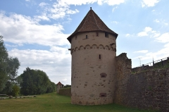 Vestiges des anciennes fortifications - This building is classé au titre des Monuments Historiques. It is indexed in the Base Mérimée, a database of architectural heritage maintained by the French Ministry of Culture,under the references PA00085343   and IA68006831 .