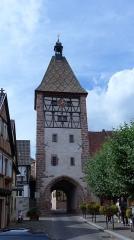Vestiges des anciennes fortifications - Porte