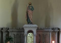 Eglise catholique Saint-Jean-Baptiste - Alsace, Haut-Rhin, Église Saint Jean Baptiste de Buhl (PA00085356, IA00054793)  Autel secondaire de St-Joseph (XIXe).