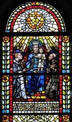 Eglise catholique Saint-Jean-Baptiste - Alsace, Haut-Rhin, Église Saint Jean Baptiste de Buhl (PA00085356, IA00054793)  Verrière