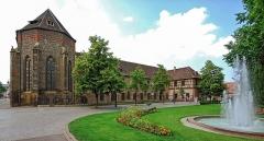 Ancien couvent des Unterlinden - Deutsch: Musée d'Unterlinden in Colmar