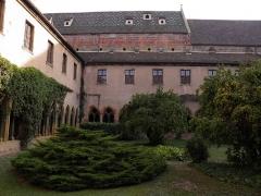 Ancien couvent des Unterlinden - Cloître du couvent des Unterlinden de Colmar (Haut-Rhin, France).