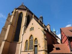 Eglise protestante Saint-Matthieu, ancienne église des Franciscains - Alsace, Haut-Rhin, Église protestante Saint-Matthieu de Colmar (XIVe) (PA00085367).
