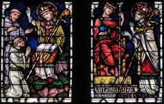 Ancienne collégiale Saint-Martin - Français:   Alsace, Haut-Rhin, Ancienne collégiale Saint-Martin (XIIIe-XIVe-XVe) de Colmar  (PA00085368): Transept nord, Verrière \