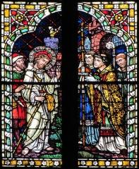 Ancienne collégiale Saint-Martin - Français:   Alsace, Haut-Rhin, Ancienne collégiale Saint-Martin (XIIIe-XIVe-XVe) de Colmar (PA00085368): Transept nord: Verrière \