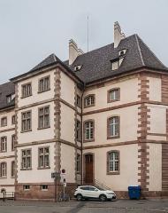Ancien hôpital - English: Former hospital in Colmar, Haut-Rhin, France