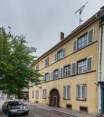 Immeuble, actuellement ministère de la Justice - English: Building at 23 rue Berthe-Molly in Colmar, Haut-Rhin, France
