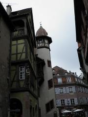 Maison Pfister - Rue des Marchands, maison zum Kragen et maison Pfister à Colmar (Haut-Rhin, France).