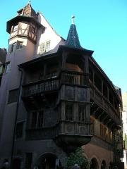 Maison Pfister - Français:   Maison Pfister au 11 rue des Marchands à Colmar (Haut-Rhin, France).