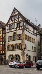 Maison Adolphe - English: Maison Adolph at 16 place de la Cathédrale in Colmar, Haut-Rhin, France