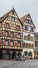 Maison Adolphe - English: Maison Gintzburger and Maison Adolph in Colmar, Haut-Rhin, France