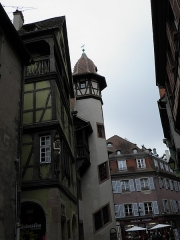 Maison - Français:   Rue des Marchands, maison zum Kragen et maison Pfister à Colmar (Haut-Rhin, France).