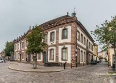 Ancien palais du Conseil Souverain d'Alsace, actuel Tribunal de Grande Instance - English: High Court of Colmar (formerly Palace of the Conseil Souverain of Alsace) at 56 Grand'Rue in Colmar, Haut-Rhin, France