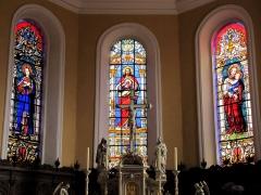 Eglise catholique Saints-Pierre-et-Paul - Alsace, Haut-Rhin, Église Saints-Pierre-et-Paul (XIIIe-XIXe) d'Eguisheim (PA00085415,  IA68000505).