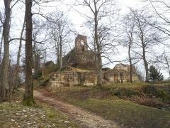 Ruines du château - Français:   Château ruines