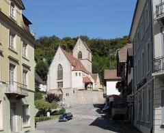 Eglise catholique Saint-Bernard-de-Menthon - Français:   L\'église Saint-Bernard-de-Menthon à Ferrette
