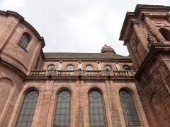 Abbaye - Français:   Alsace, Haut-Rhin, Église abbatiale Notre-Dame de Guebwiller (1768-1785), place Jeanne-d\'Arc (PA00085438, IA00054832).