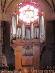 Eglise Saint-Léger - Alsace, Haut-Rhin, Église Saint-Léger (XIIIe) de Guebwiller (PA00085440, IA00054831). Orgue de chœur (Gaston Kern, 1982).