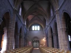 Eglise Saint-Léger - Alsace, Haut-Rhin, Église Saint-Léger (XIIIe) de Guebwiller (PA00085440, IA00054831).