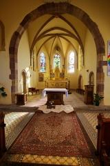 Eglise catholique Sainte-Colombe - Église Sainte-Colombe de Hattstatt, 11 rue du Bourgrain (Inscrit, 1984)