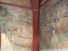 Eglise mixte Saint-Jacques-le-Majeur et son enceinte fortifiée - Français:   Alsace, Haut-Rhin, Église Saint-Jacques-le-Majeur (XVe-XVIe) de Hunawihr (PA00085463, IA68005952). Peintures monumentales (XVe-XVIe) \