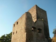 Ruines des châteaux de Weckmund et de Wahlenbourg - Français:   Château du Walhenbourg (591 m) à Husseren-les-Châteaux (Haut-Rhin, France).