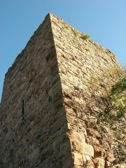 Ruines des châteaux de Weckmund et de Wahlenbourg - Français:   Château du Weckmund (591 m) à Husseren-les-Châteaux (Haut-Rhin, France).
