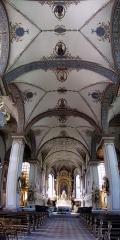 Eglise catholique Sainte-Marie-Auxiliatrice, dite basilique Notre-Dame-de-Thierenbach - Alsace, Haut-Rhin, Jungholtz, Basilique Notre-Dame (1723) de Thierenbach (PA00085469, IA00111918). Panoramique de la nef.