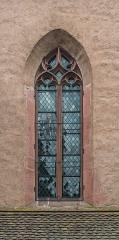 Chapelle Saint-Michel et son ossuaire (chapelle inférieure) - English:   Window of the Saint Michael chapel in Kaysersberg, Haut-Rhin, France