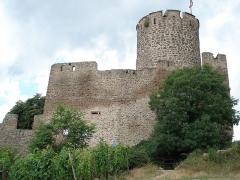 Château dit Schlossberg et enceinte - Français:   Kaysersberg, Alsace, dép. Haut-Rhin, France. Château.
