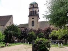 Eglise catholique de l'Invention de la Sainte-Croix - Français:   Alsace, Haut-Rhin, Église Sainte-Croix (XIIIe-XVe-XVIe) de Kaysersberg (PA00085477, IA68000563): Façade nord.