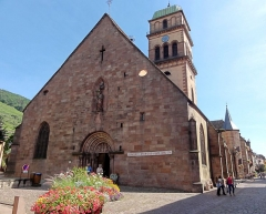 Eglise catholique de l'Invention de la Sainte-Croix - Français:   Alsace, Haut-Rhin, Église Sainte-Croix (XIIIe-XVe-XVIe) de Kaysersberg (PA00085477, IA68000563)