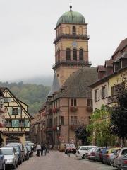 Eglise catholique de l'Invention de la Sainte-Croix - Alsace, Haut-Rhin, Église Sainte-Croix (XIIIe-XVe-XVIe) de Kaysersberg (PA00085477, IA68000563)