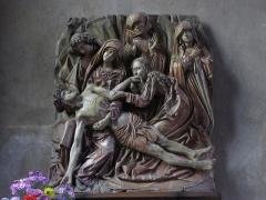 Eglise catholique de l'Invention de la Sainte-Croix - Alsace, Haut-Rhin, Église Sainte-Croix (XIIIe-XVe-XVIe) de Kaysersberg (PA00085477, IA68000563) Relief de la