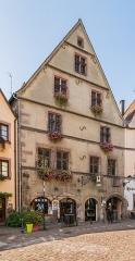 Immeuble - English: Building at 62-64 rue du Général-de-Gaulle in Kaysersberg, Haut-Rhin, France
