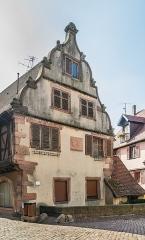 Maison - English: Building at 78 rue du Général-de-Gaulle in Kaysersberg, Haut-Rhin, France