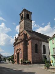 Eglise catholique Saint-Martin - Nederlands: Masevaux, kerk: église Saint-Martin