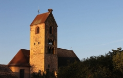 Eglise catholique Saints-Pierre-et-Paul - Français:   Église Saints-Pierre-et-Paul de Meyenheim, 10 rue de l\'Église (Inscrit, 1984)