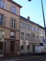 Immeubles bordant la place de la République - Français:   Immeubles, 46, 48 avenue Clémenceau 27 rue Wilson Place de la République (Inscrit, 1986)