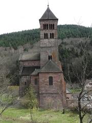 Ancienne abbaye - Abbaye de Murbach (Haut-Rhin, France).