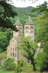 Ancienne abbaye - Abbaye - église - ancienne porterie, portail, immeubles (Classé Inscrit)
