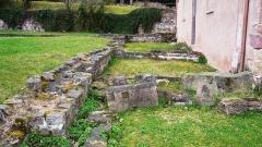 Ancienne abbaye de Marbach -  Une partie des vestiges de l'ancienne abbaye de Marbach