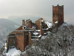 Châteaux de Guirsberg, de Haut-Ribeaupierre et de Saint-Ulrich - Français:   Château Saint-Ulrich