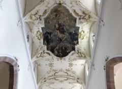 Ancienne église des Augustins, dite de la Providence - Alsace, Haut-Rhin, Ribeauvillé, Église du Couvent des Augustins (XIVe-XVe-XVIIIe), 3 rue de l'Abbé-Louis-Kremp. (PA00085586, IA68006914). Peinture monumentale