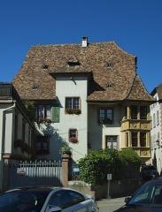 Maison - Français:   Maison, 4 rue Salzmann (Inscrit, 1932)