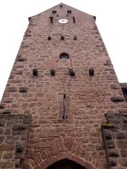 Anciennes fortifications - Français:   Alsace, Haut-Rhin, Riquewihr, Avant-porte de la porte haute de l\'enceinte de fortification médiévale dite \