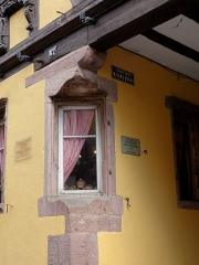 Maison dite à l'Etoile - Français:   Alsace, Haut-Rhin, Riquewihr, Ancienne auberge dite \