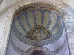 Eglise Saint-Arbogast, puis Notre-Dame de l'Assomption - Alsace, Haut-Rhin, Église Notre-Dame de l'Assomption de Rouffach (PA00085638, IA68004432): Peintures monumentales sur plafond croisillon.